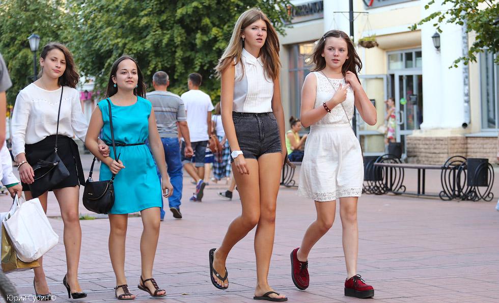 Французские давалки на улице — 6