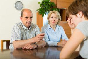 Как сообщить своим родителям?